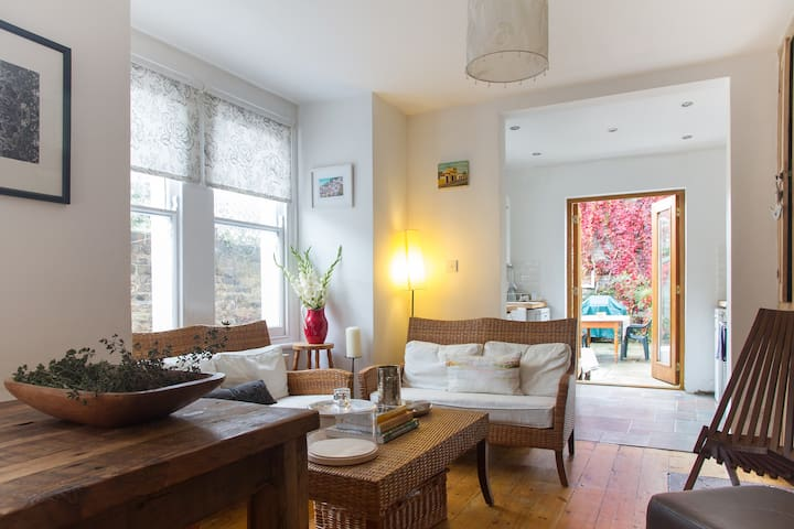 Peaceful house+garden Peckham Rye - London - Rumah
