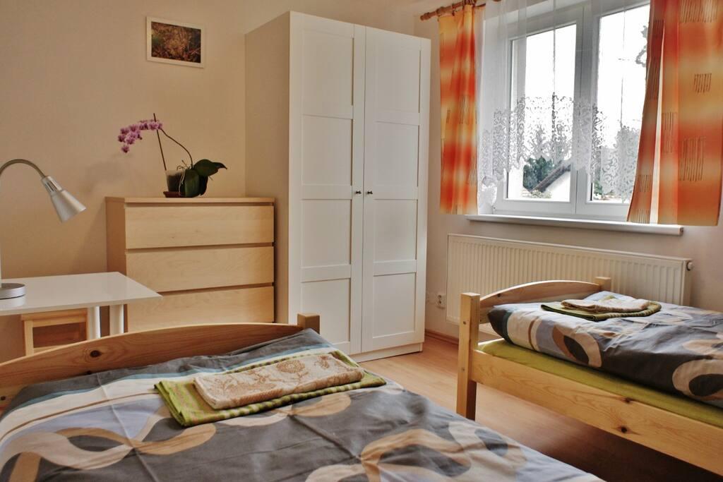 variable bedroom: double room, twin room, single room