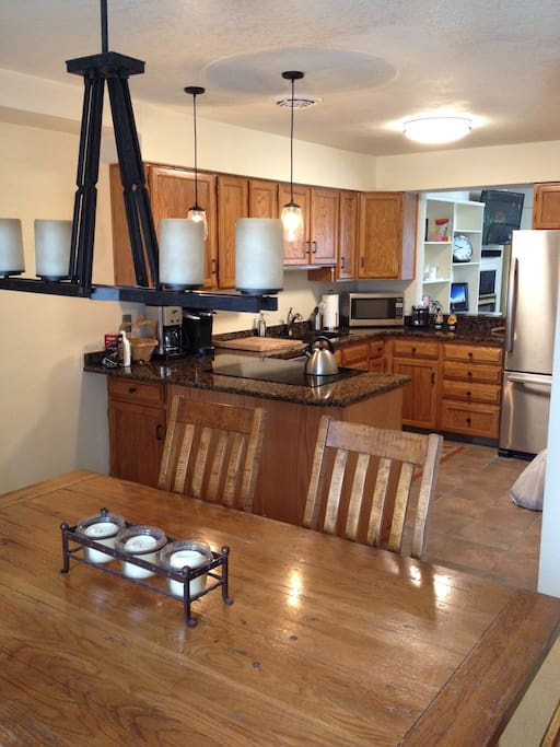 Brand new kitchen with everything you need
