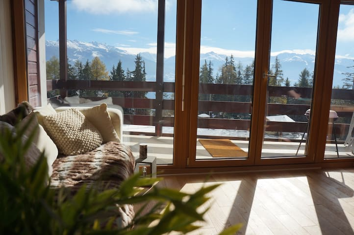 Anzere, Swiss Alps nr Crans-Montana - Ayent - Apartamento
