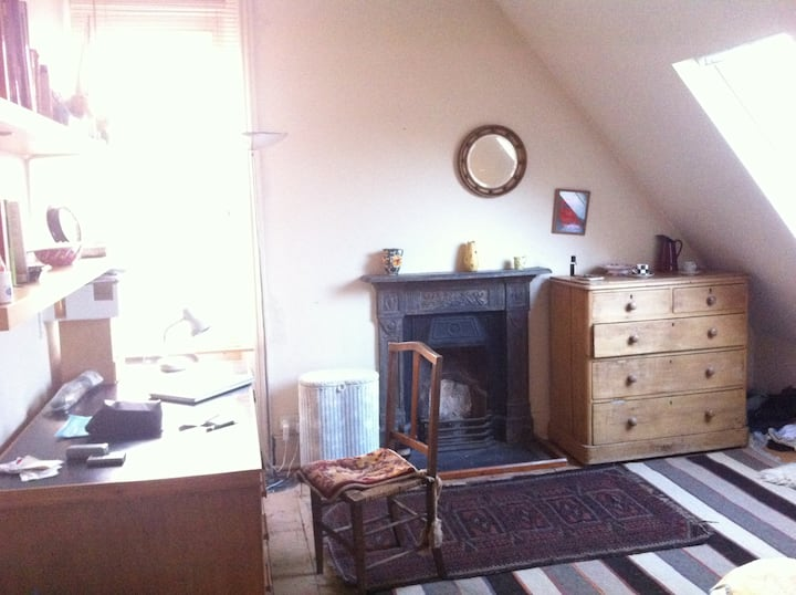 Huge double room in house in NW5