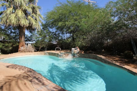 Private Gated Desert Adobe Getaway - Cathedral City
