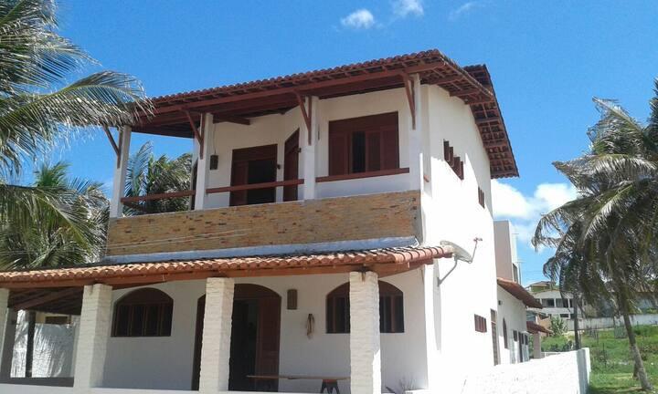 casa frente al mar en maxaranguape
