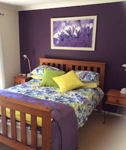 Large bedroom with private bathroom. - Charlestown