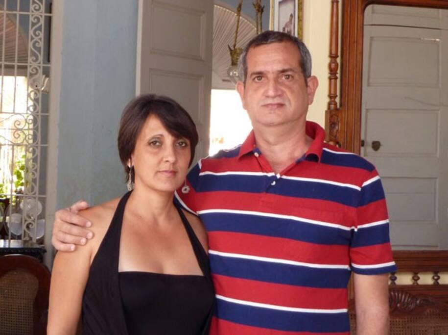 Rosa and Julio