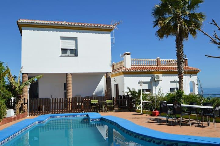 Stunning Seaviews private pool Benajarafe - Vélez-Málaga - Rumah