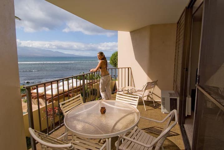 Maalaea 5 Star Awesome Oceanfront One Bed Condo