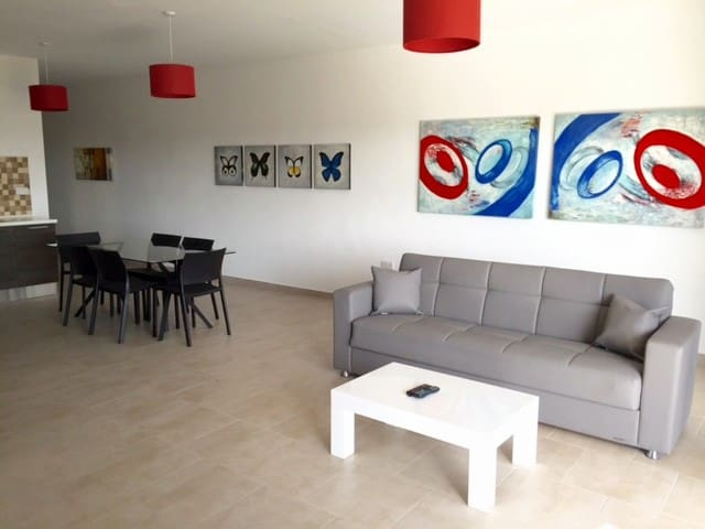 Brand new 3 bedroom apartment sleeps 7 - 2 baths ! - Wied il-Għajn - Apartment