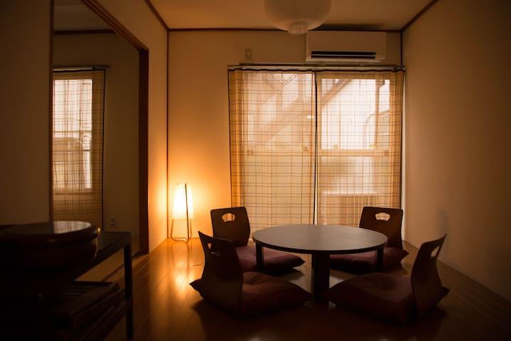 Comfortable JPN room closeby Shinjuku & Shibuya - Setagaya-ku - Huoneisto