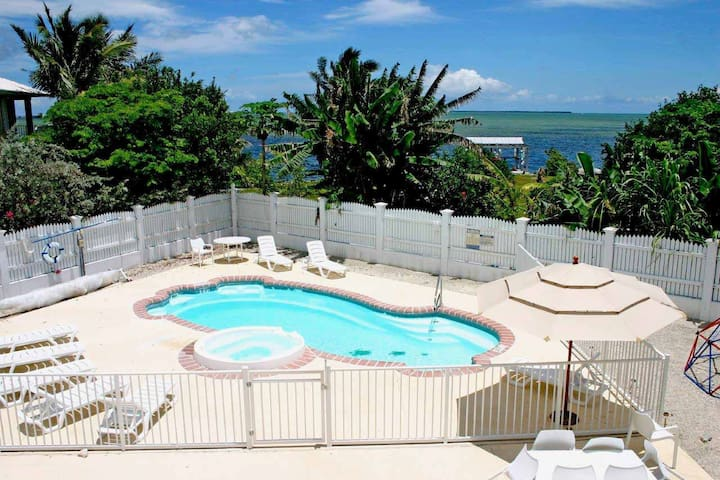 Private Peaceful Oceanview Estate - Away From All - Cudjoe Key - Casa