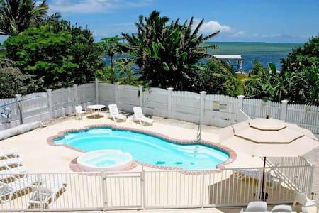 Private Peaceful Oceanview Estate - Away From All - Cudjoe Key - Hus