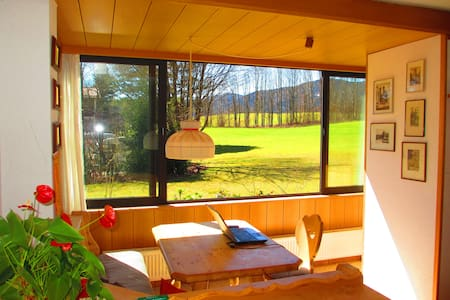 Peaceful vacation near Bavarian Lake -or long stay - Gmund - House