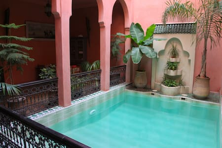 Riad. Room double/ twin N°3 - Marrakesh - Bed & Breakfast