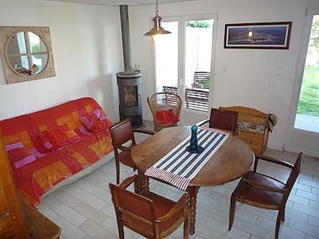 villa, belle vue mer, plage proche - Denneville - House