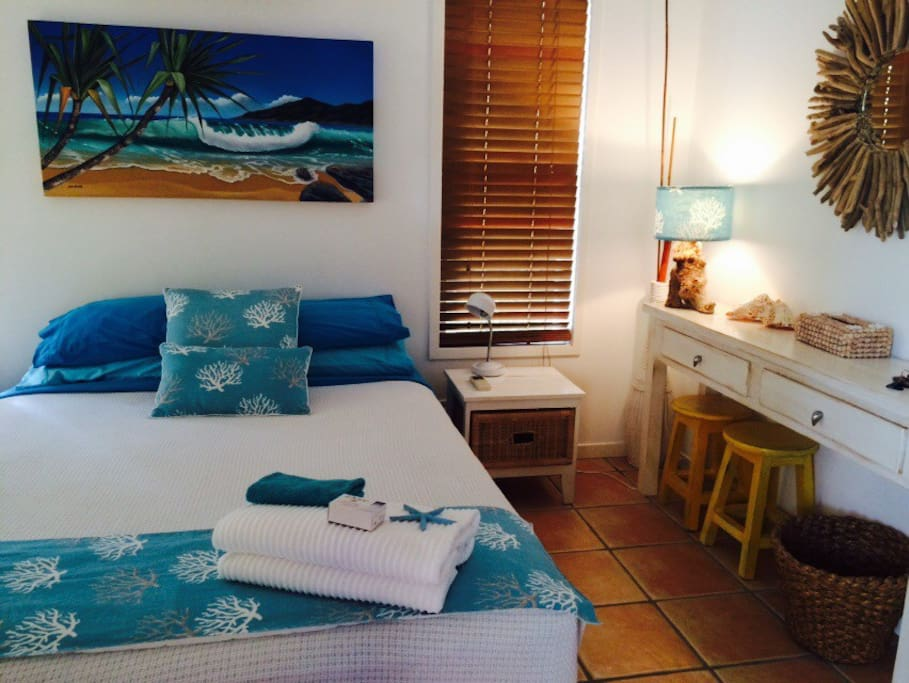Your inviting beachy bedroom