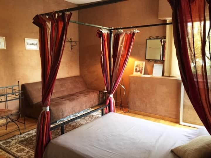 La chambre n°2 du Carré Français