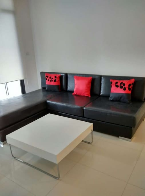 Living room, beach friendly