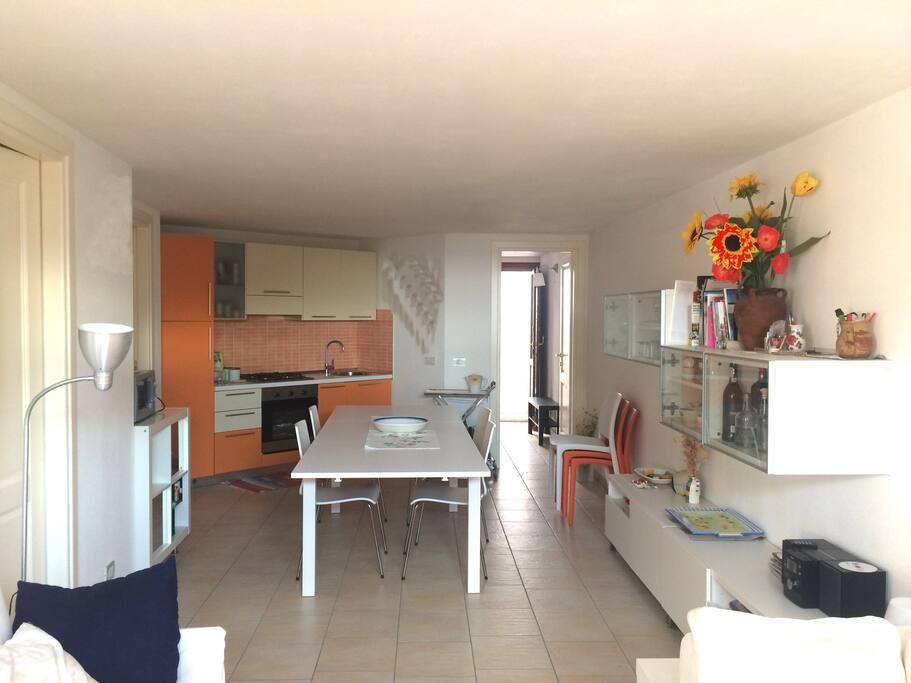 soggiorno- cucina