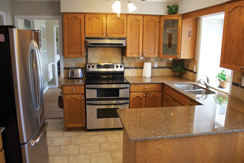 Double ovens, microwave, dishwasher and detergents