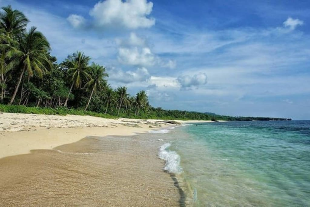 The property is nestled on beautiful Patar Beach