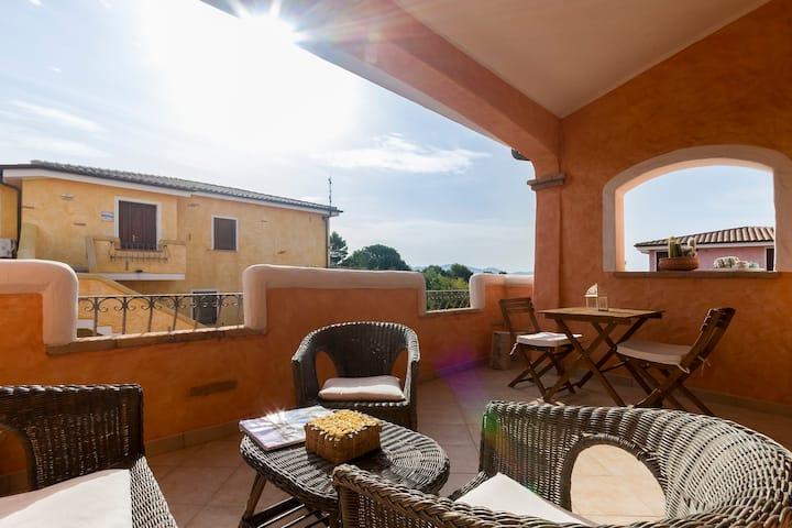 Perfect for couple;romantic veranda