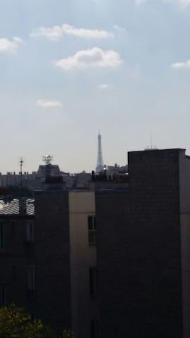 """Road trip"" in Paris - Bois-Colombes - Appartement"