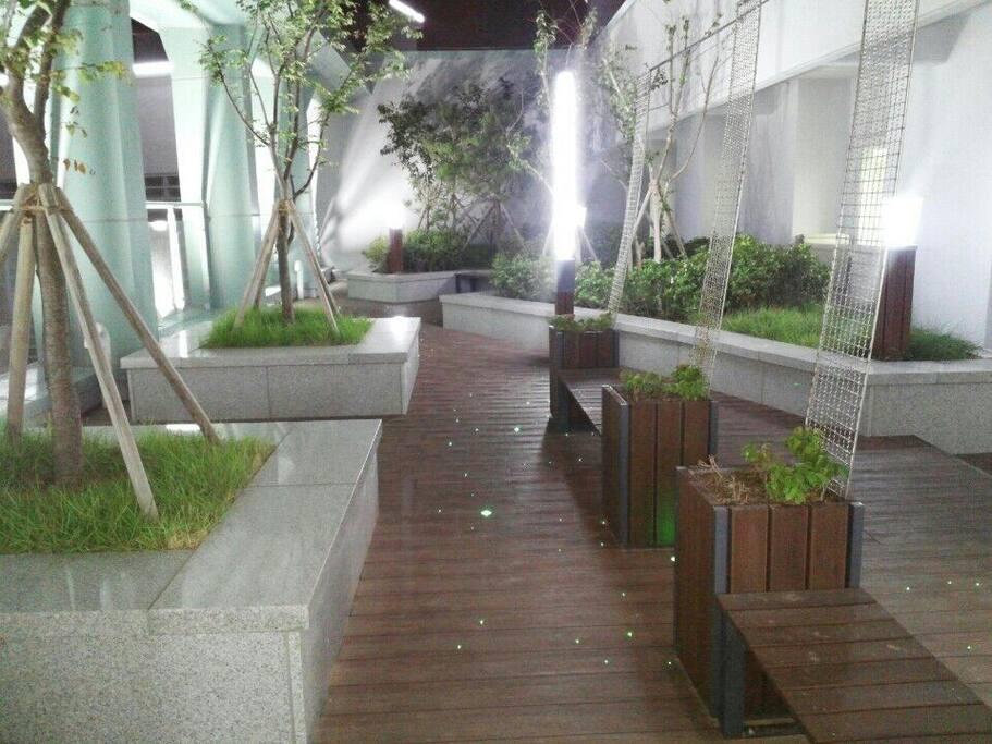 Roof top-park