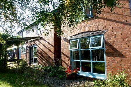 Cosy room in hop kiln conversion - Stoke Lacy - Bed & Breakfast