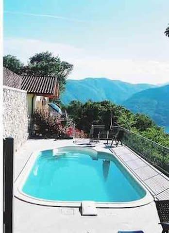 House for rent with pool CB4 - Tronzano Lago Maggiore - Apartment