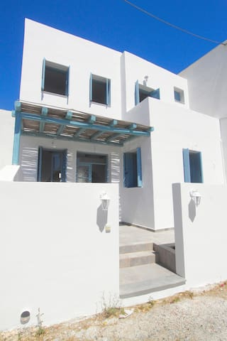 Traditional greekstyle villa
