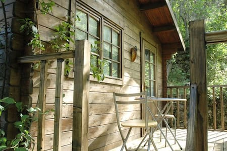 cosy chalet in very rural setting - Tourrette-Levens - Alpstuga