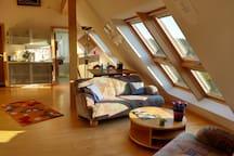 3-Kaiser-Berge: separate Ferienwohnung für 2Erw+2K