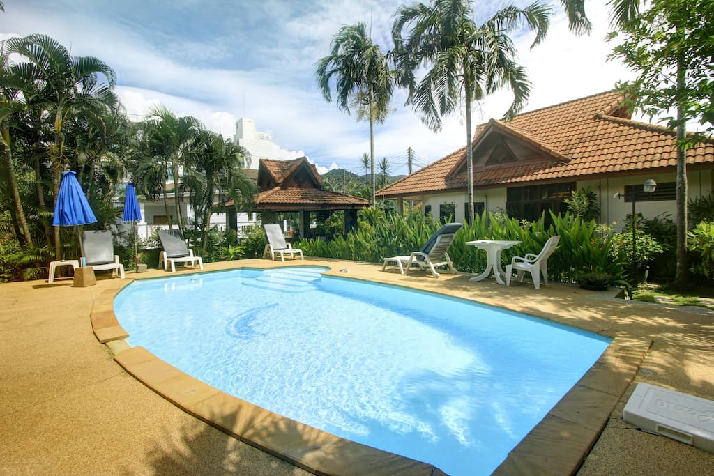 Family Bungalow With A Swimming Pool On Kamal 2 Villas For Rent In Tambon Kammala Chang Wat