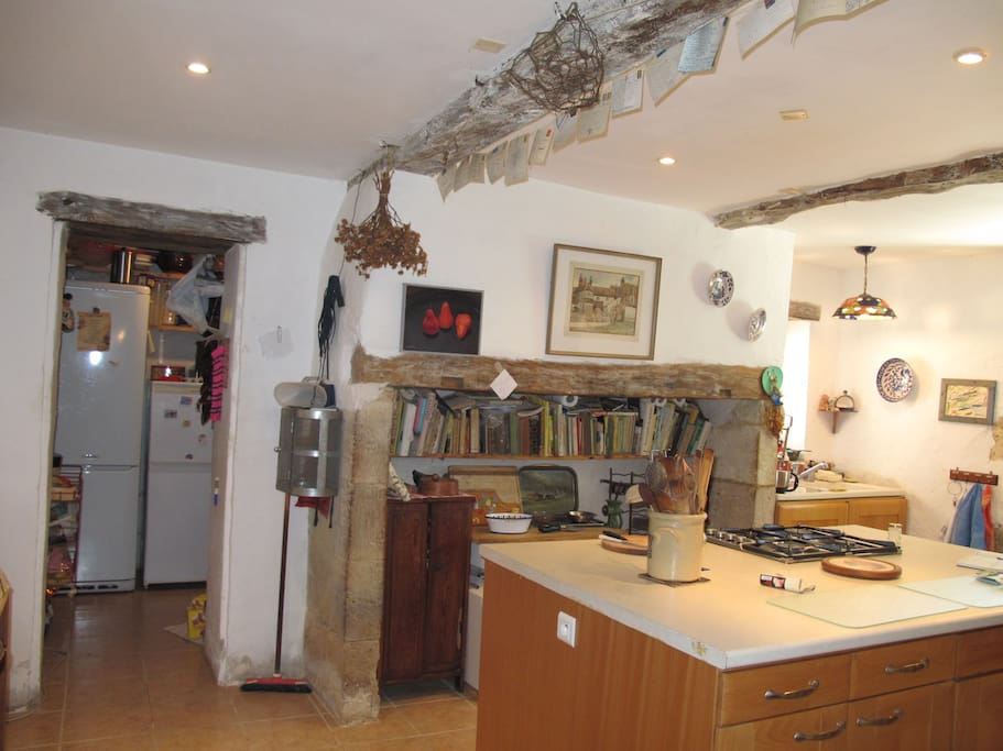 kitchen, well equipped