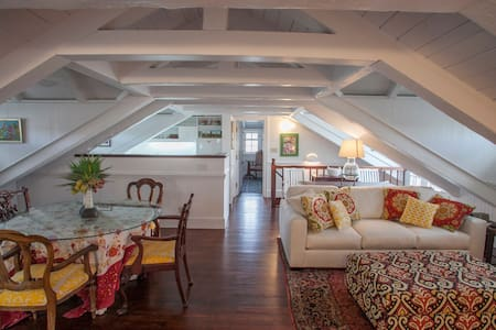"""The Attic"" at  Quin House - Christiansted"