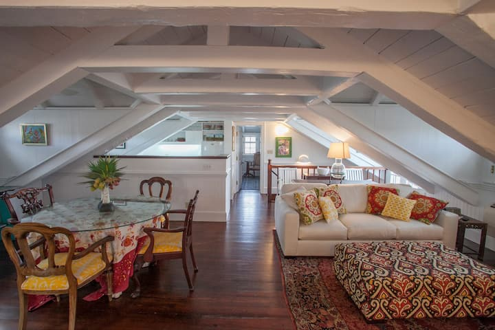 """The Attic"" at  Quin House Christiansted St Croix"