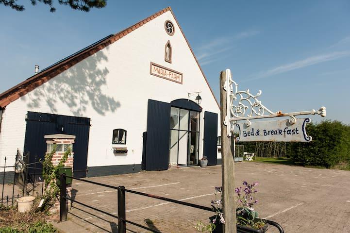 sfeervol familiehuis - Zevenbergen - บ้าน
