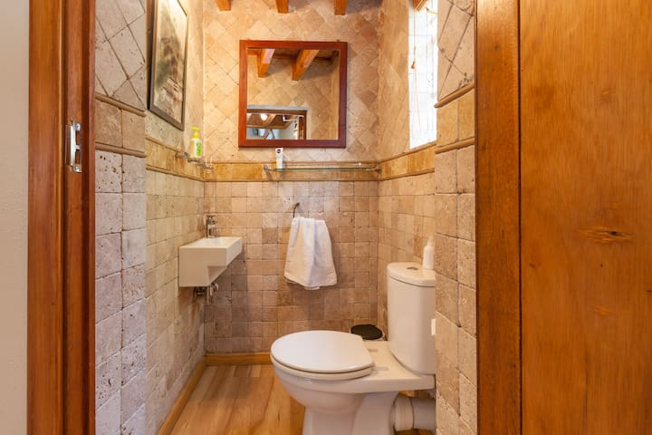 Ground floor guest toilet
