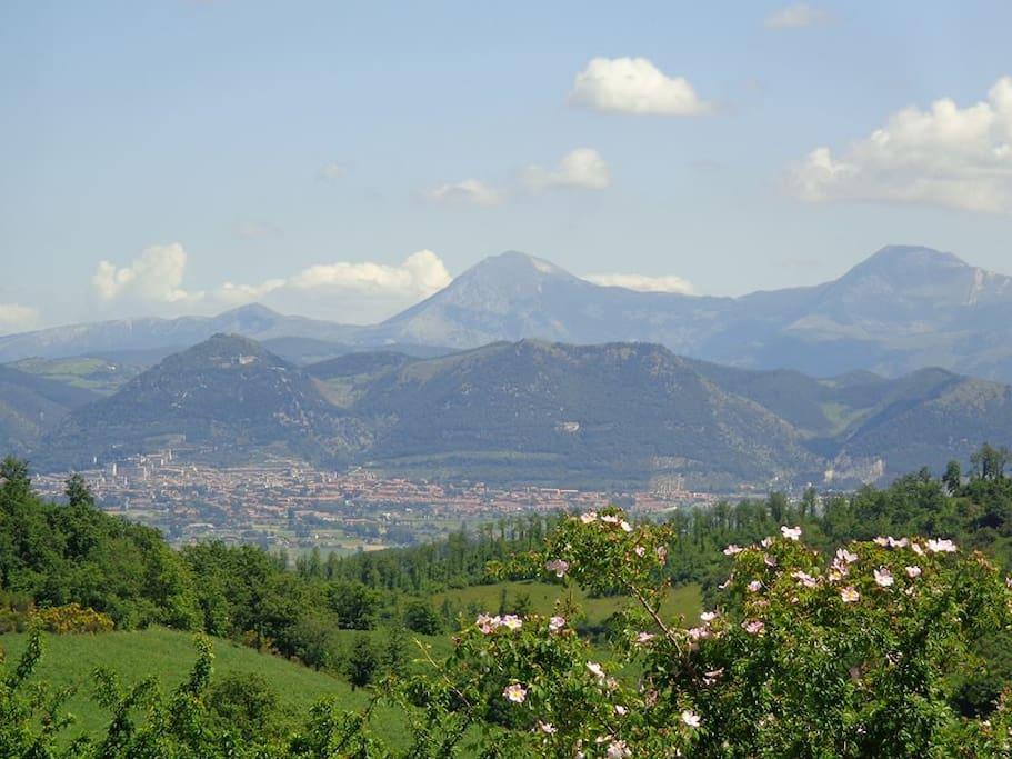 La valle di Gubbio