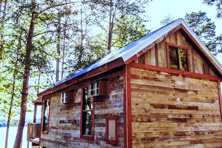 100 Year Old Reclaimed Cabin #16