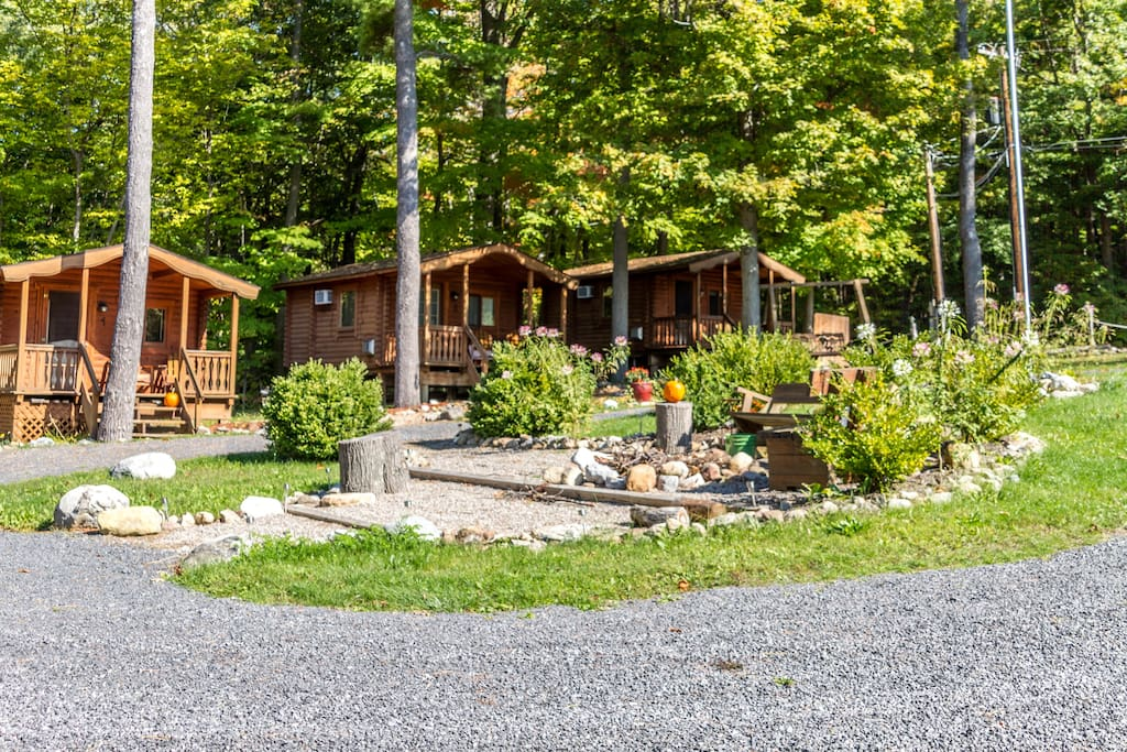 Cabins on the Spur. Enjoy the best of Seneca Lake by day and night.