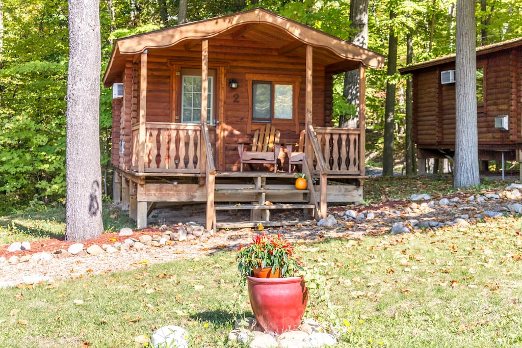 The spur cabin 2 on seneca lake cottages for rent in for Seneca lake ny cabins
