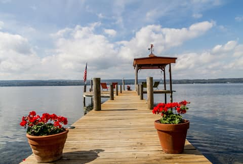 Cozy Lakeside Cabins on Seneca Lake #2