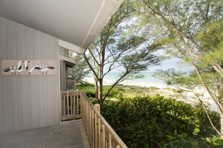 Beautiful Beachfront 2-bedroom - Indian Shores - Daire