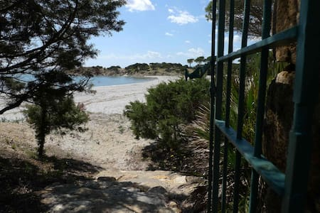 House on the beach of CalaLiberotto
