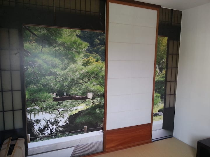 Japanese style guest room + parking