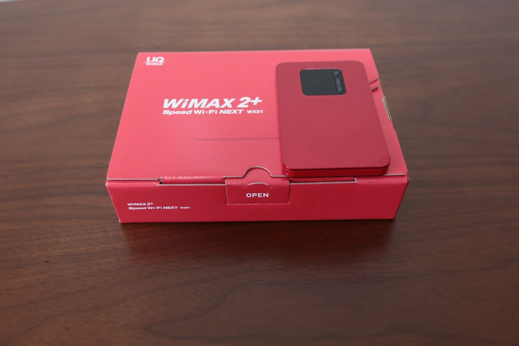 It is a pocket WiFi that you can carry out.