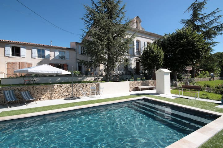 Penthouse of Villa St Marc in Provence - Forcalquier - Huoneisto
