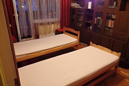 Pokoj s 2 postelemi a balkónem - Uzhhorod - Appartement