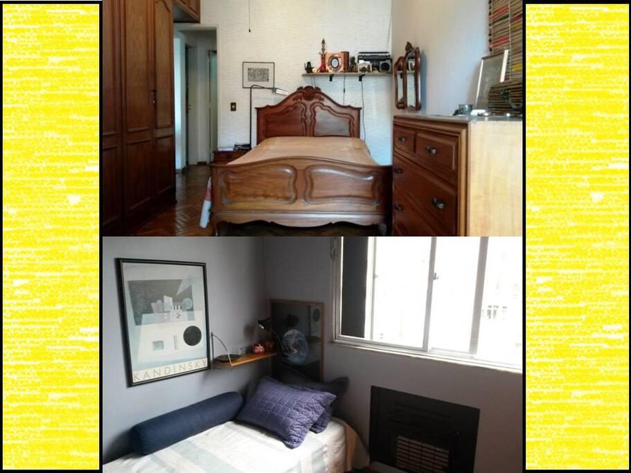 Os dois quartos
